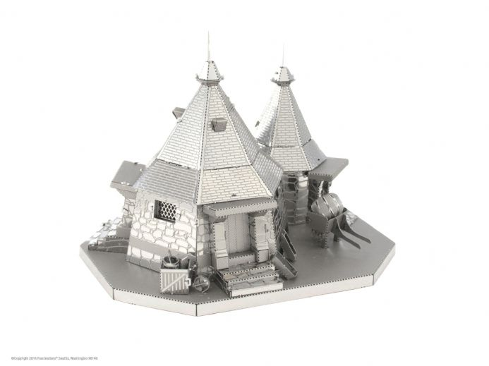 Harry Potter Metal Earth Hagrid's Hut Model Kit | Buy now at The G33Kery - UK Stock - Fast Delivery